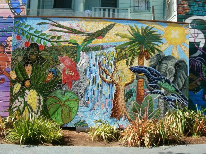 mini park mosaic mural