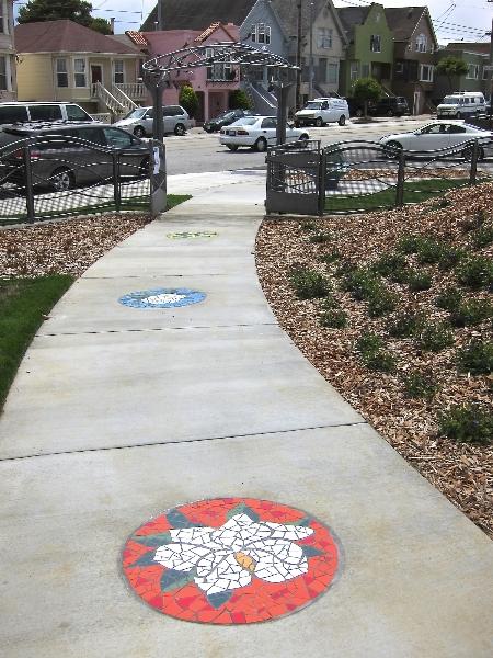 magnolias sidewalk