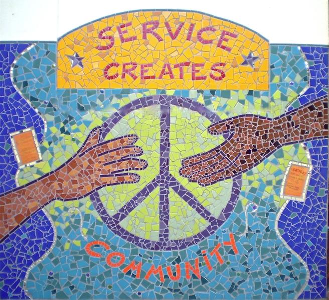 service creates community